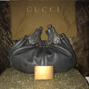Like New Gucci Vintage Exclusive Leather handbag